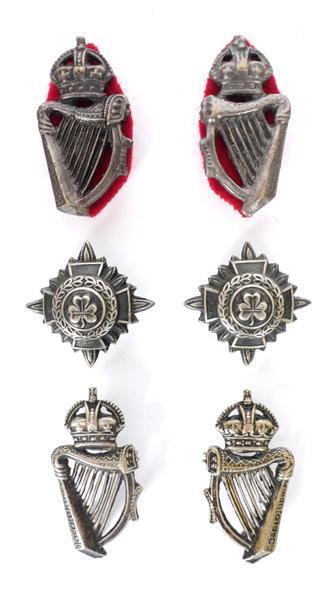 1902-1922 Royal Irish Constabulary, badges and rank insignia