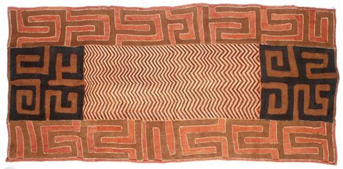 Early 20th century, Congo, textile wall hanging.