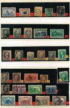 Stamps. USA mainly used 19th century collection in KEK stockbook.