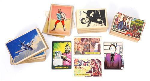 1960s Television series'' collectors'' cards.