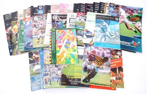 1980- GAA programmes