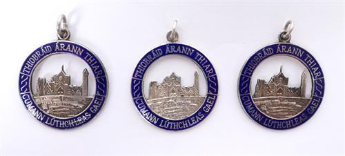 1993-95 West Tipperary Senior Hurling Championship medals.