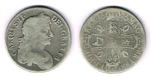 Charles II to Victoria silver crowns accumulation.