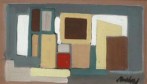 Markey Robinson (1918-1999) ABSTRACT