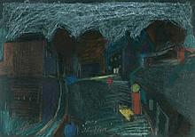 Tony O'Malley HRHA (1913-2003) THE STILL, ENNISCORTHY, COUNTY WEXFORD, 1977