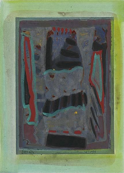 Tony O'Malley HRHA (1913-2003) ABSTRACT, 1978