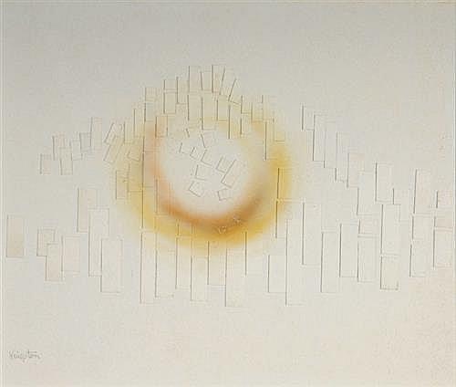 Richard Kingston RHA (1922-2003) CAUSEWAY SERIES, NO. 8, 1997