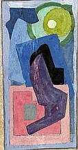 Mainie Jellett (1897-1944) ABSTRACT COMPOSITION