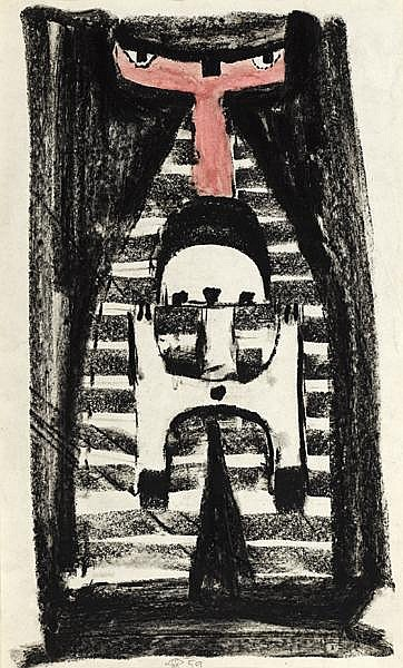Colin Middleton MBE RHA (1910-1983) FIGURE, 1959