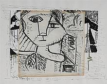 Nevill Johnson (1911-1999) HEAD OF A GIRL