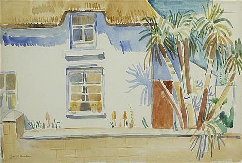 Father Jack P. Hanlon (1913-1968) COTTAGE IN SUMMER