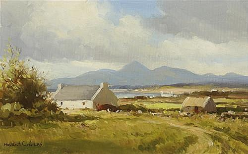 Maurice Canning Wilks RUA ARHA (1910-1984) AT ROSSGLASS, COUNTY DOWN