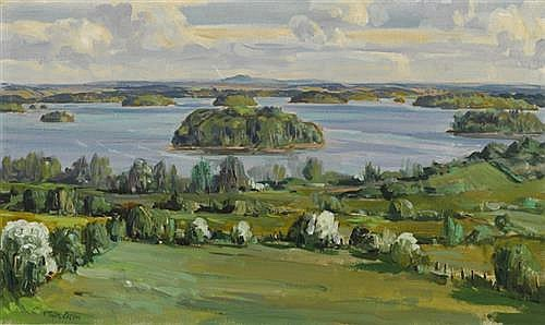 Robert Taylor Carson HRUA (1919-2008) LOUGH KEY, COUNTY ROSCOMMON