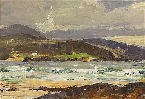 Maurice Canning Wilks RUA ARHA (1910-1984) CULDAFF STRAND, COUNTY DONEGAL
