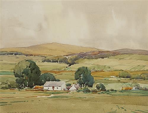 Maurice Canning Wilks RUA ARHA (1910-1984) BALLYNURE, COUNTY ANTRIM