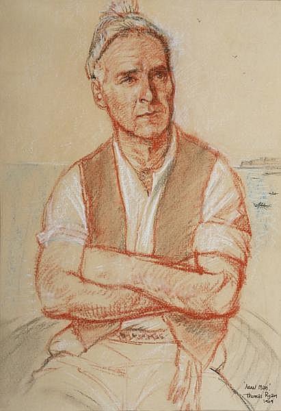 Thomas Ryan PPRHA (b.1929) ARAN MAN, 1969