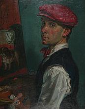 Paul James Logan Wyeth RP RBA ARCA (British, 1920-1983) SELF PORTRAIT