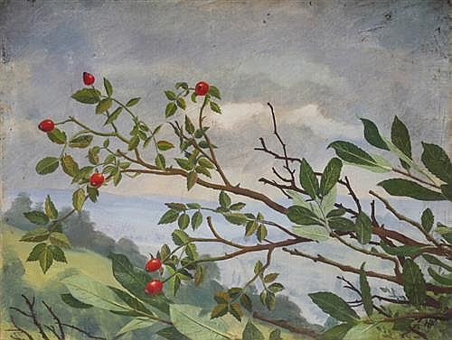 William Eric Horsbrugh-Porter (1905-1985) WINTER BERRIES