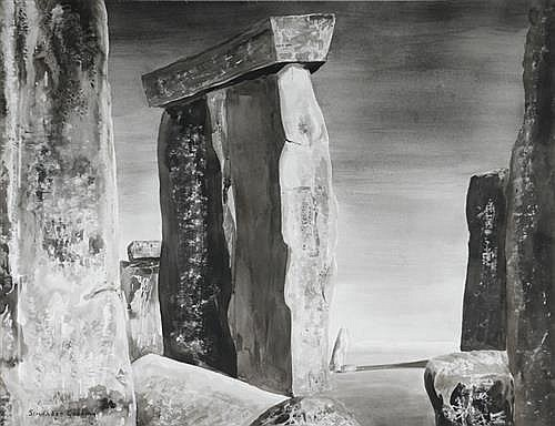 Maria Simonds-Gooding ARHA (b.1939) UNTITLED [STANDING STONES]