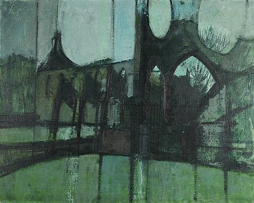 Richard John Croft RUA (b.1935) GREYABBEY, COUNTY DOWN