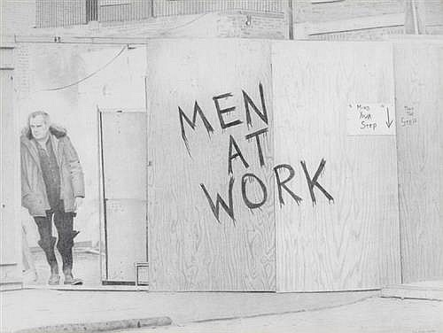 Tom Cullen (20th/21st Century) MEN AT WORK, 1984