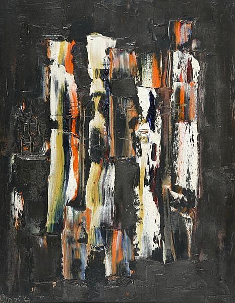 Gerald Davis (1938-2005) UNTITLED, 1963