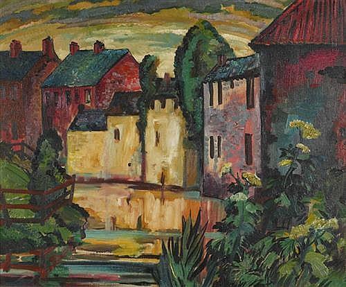 John Hunter OBE RUA ARCA (1893-1951) STRYLE AT OMAGH