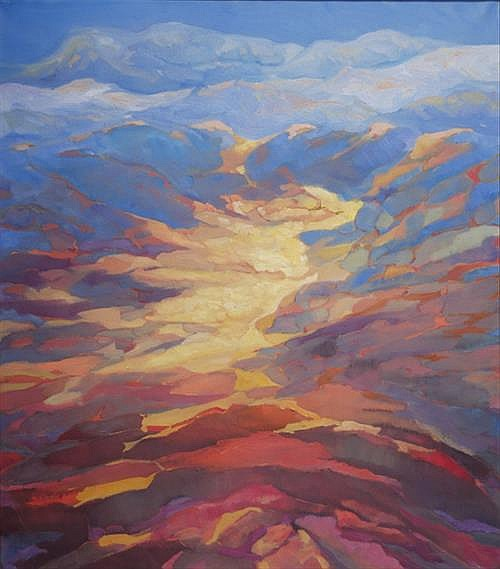 Paddy Lennon (b.1955) UNTITLED [SUNSET]