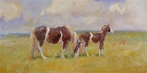 June Brilly (b.1956) THE HIGH PASTURE