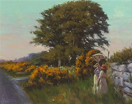 Norman Teeling (b.1944) GLENCREE, COUNTY WICKLOW