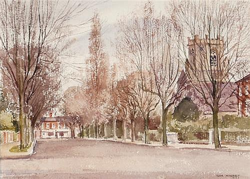 Tom Nisbet RHA (1909-2001) ELGIN ROAD, DUBLIN