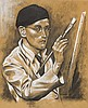 Harry Kernoff RHA (1900-1974) SELF PORTRAIT, 1936