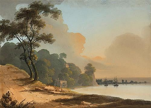Thomas Walmsley (1763-1806) COASTAL SCENE