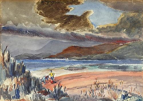 Violet McAdoo (1896-1961) SUN THROUGH CLOUD