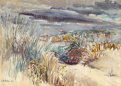 Violet McAdoo (1896-1961) ON THE SANDHILLS, 1947