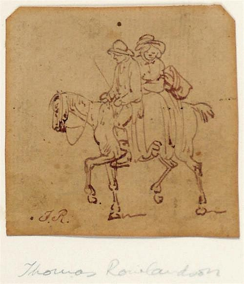 Thomas Rowlandson (1756-1827) TO MARKET