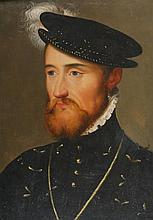 In the style of François Clouet (c.1510-1572) PORTRAIT OF A FRENCH NOBLEMAN