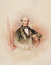 Edward Hayes RHA (1797-1864) PORTRAIT OF A GENTLEMAN, 1853