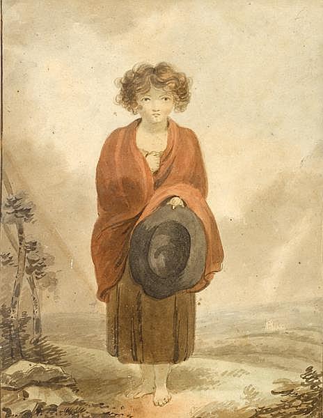19th Century Irish School PORTRAITS OF WOMEN (A PAIR)