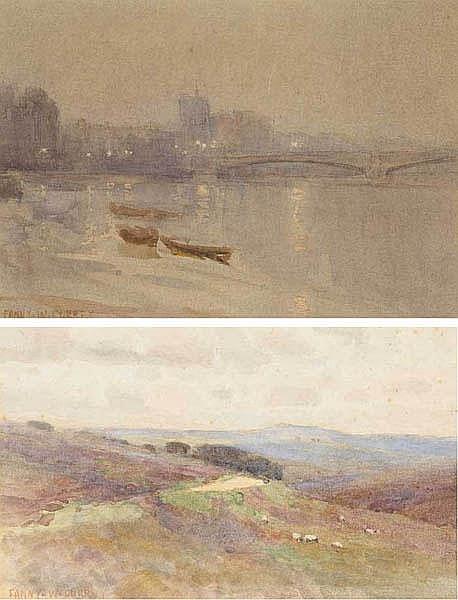 Fanny Wilmot Currey WCSI (1848-1917) THAMES