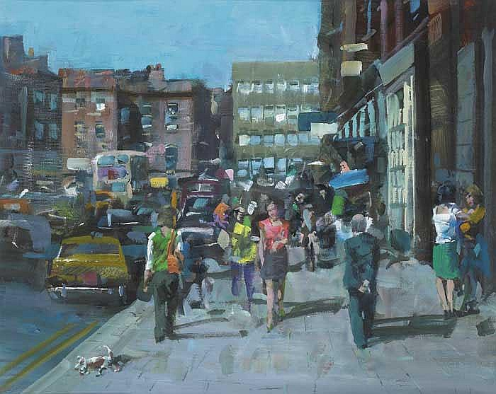 James le Jeune RHA (1910-1983) UPPER BAGGOT STREET