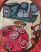 Elizabeth Cope (b.1952) KITCHEN TABLE IN THE, Elizabeth Cope, Click for value