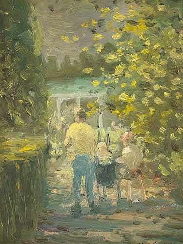William Mason (1906-2002) THE BOTANIC GARDENS
