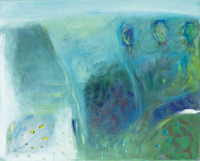 Anita Shelbourne RHA (b.1938) SUMMER MIST signed