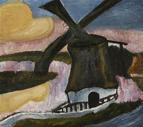 Christy Brown (1932-1981) WINDMILL
