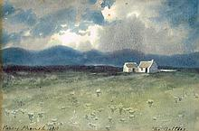 William Percy French (1854-1920) TWO VIEWS OF THE GALTEES, 1910