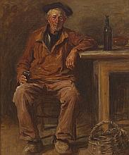 Aloysius C. O'Kelly (1853-1936) UN VERRE DE VIN