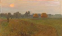 Walter Frederick Osborne RHA ROI (1859-1903) EVENING MISTS, c.1891