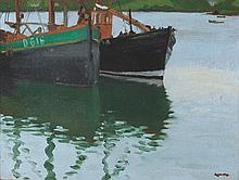 Cecil Galbally RHA (1911-1995) FISHING BOATS AT KINSALE, CORK