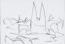 Markey Robinson (1918-1999) SKETCHES (A PAIR)